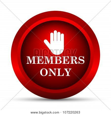 Members Only Icon