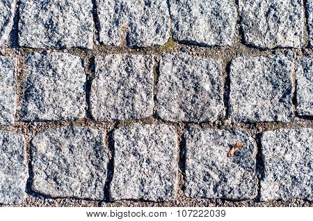 Abstract Background Texture Of Paving Stone
