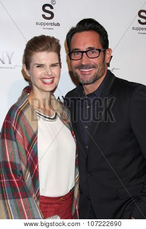 LOS ANGELES - DEC 4:  Carrie Genzel, Gregory Zarian at the