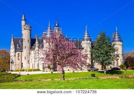 castles of Belgium - Marix, Bornem