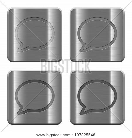 Metal Chat Buttons