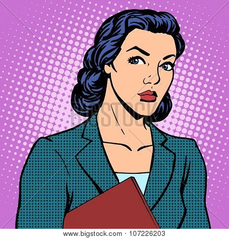 Businesswoman successful woman