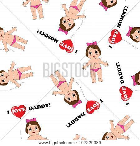 Baby Texture Vector