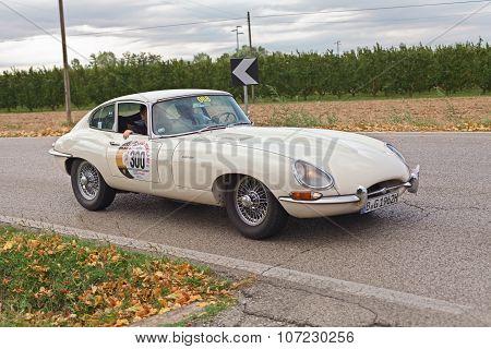 Classic Car Jaguar E-type Fhc (1962)