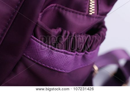 Side Pocket Of Backpack
