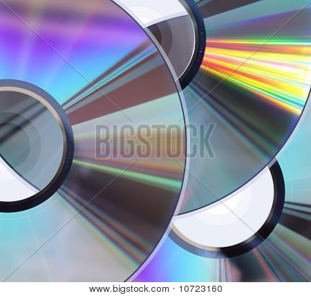 Three Cd / Dvd Disks