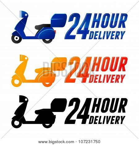 Non Stop Delivery Service With Scooter