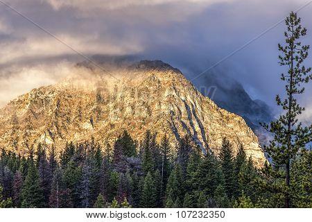 Williams Peak In Stanley, Idaho.