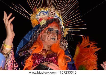 A West Village Halloween parade