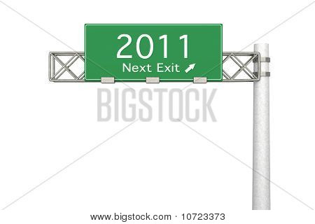 Highway Sign - Next Exit 2011.