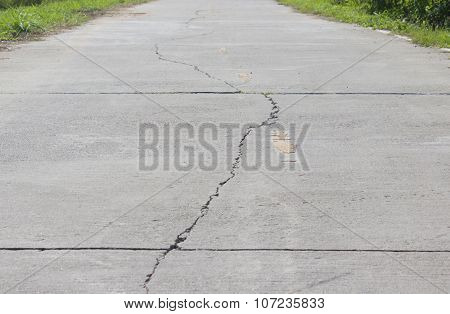 The Cracks On The Road