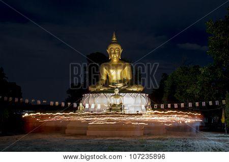 Buddhist Came To Celebrate In Vesak Day