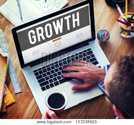 Growth Grow Development Improvement Enlargement Concept