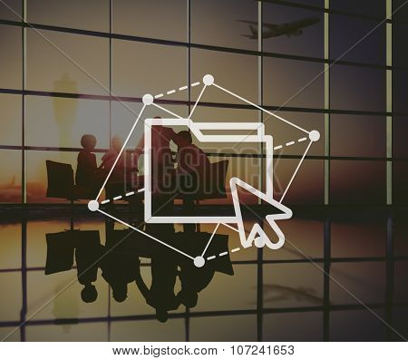 Folder Document Share Office Files Concept