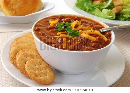 Bowl Of Hot Chili