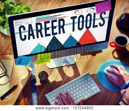 Career Tools Hiring Job Occupation Profession Concept