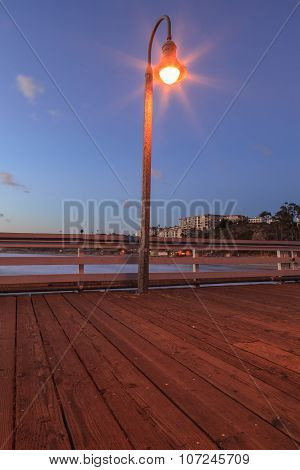 Lamp on the San Clemente pier