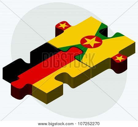 Germany And Grenada Flags