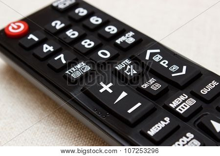 Buttons On Remote Control For Television