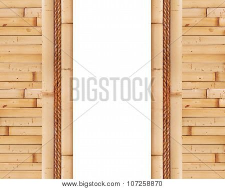 Empty Bamboo Frame