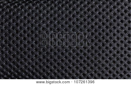 Black background of fibre texture