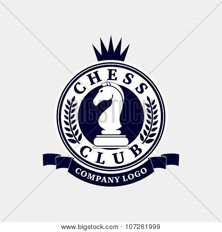 Logo Of The Chess Club.