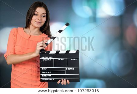 Film Slate.