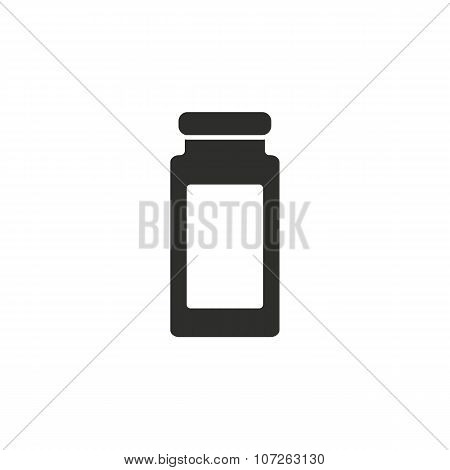 Medicine Bottle  Icon.