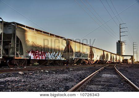 Ladung mit Graffiti zu trainieren.