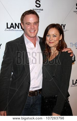 LOS ANGELES - DEC 4:  Michael Redford, Taylor Stanley at the