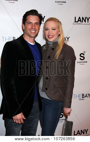 LOS ANGELES - DEC 4:  Scott Bailey, Adrienne Frantz at the