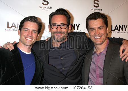 LOS ANGELES - DEC 4:  Scott Bailey, Gregory Zarian, Rick Hearst at the