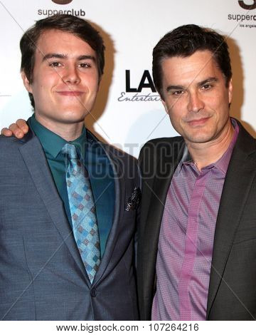 LOS ANGELES - DEC 4:  Nicholas Hearst, Rick Hearst at the