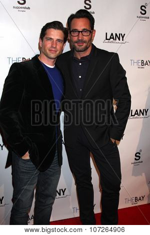 LOS ANGELES - DEC 4:  Scott Bailey, Gregory Zarian at the