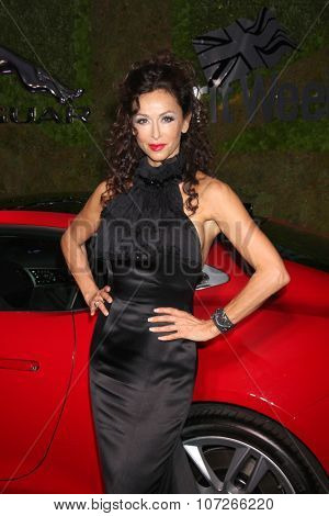 LOS ANGELES - MAY 2:  Sofia Milos at the Jaguar North America and Britweek Present