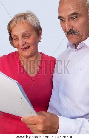 Married Couple With A Contract