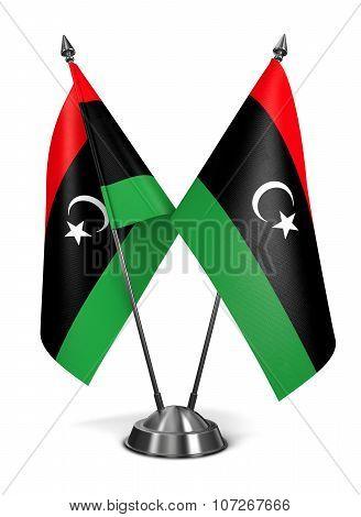 Libya - Miniature Flags.