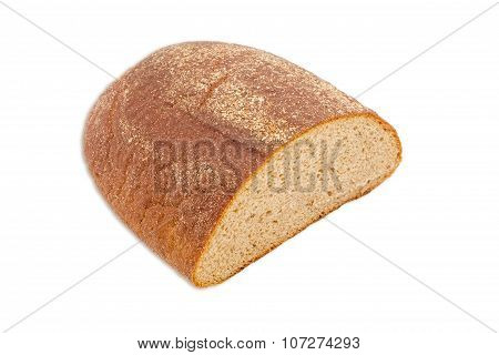 Brown Bread On A Light Background