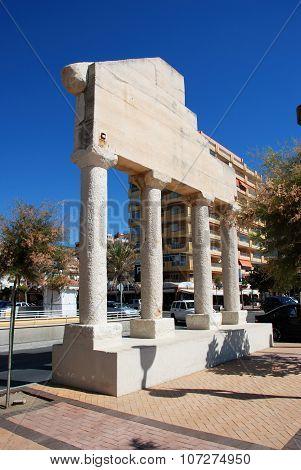 Plaza Castilla, Fuengirola.