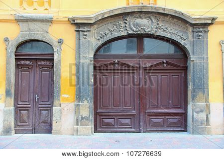 Old Doors In Hungary