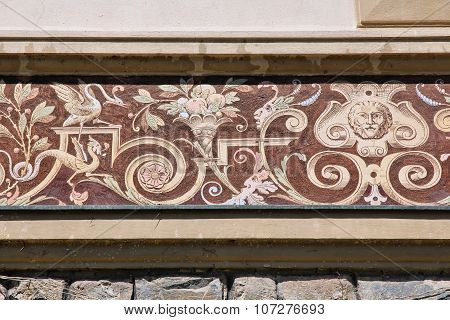 Romania - Peles Castle Detail
