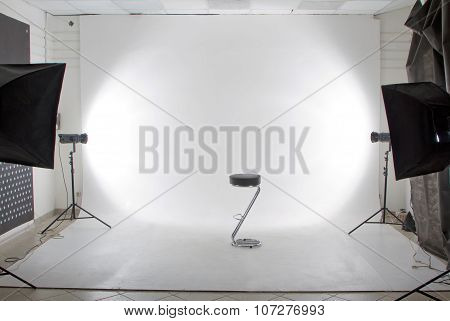 modern photo and video studio