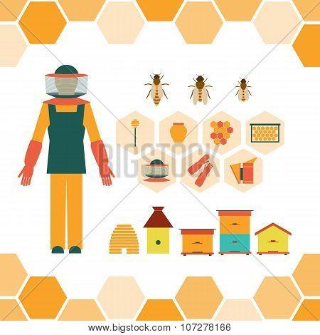 Beekeeper's hand tools