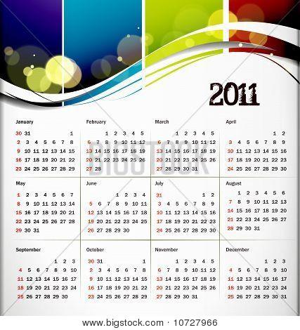 2011 Kalender