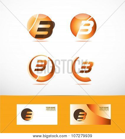 Letter B Logo Icon Set