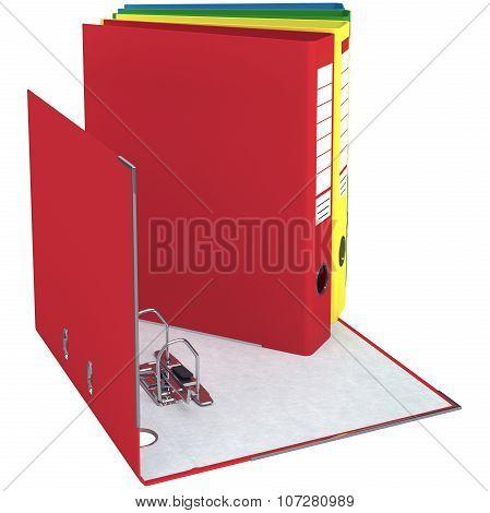 Folder, open, closed