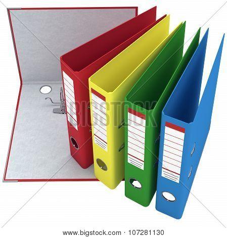 Office folder, mechanism, chrome