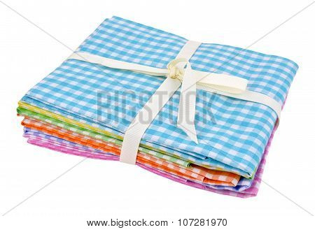 Pack Of Gingham Fabric