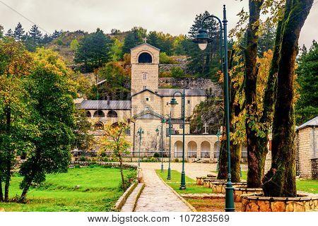 Monastery In Cetinje, Montenegro