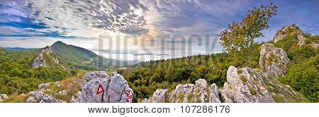 Kalnik Mountain Fortress Ruins And Nature